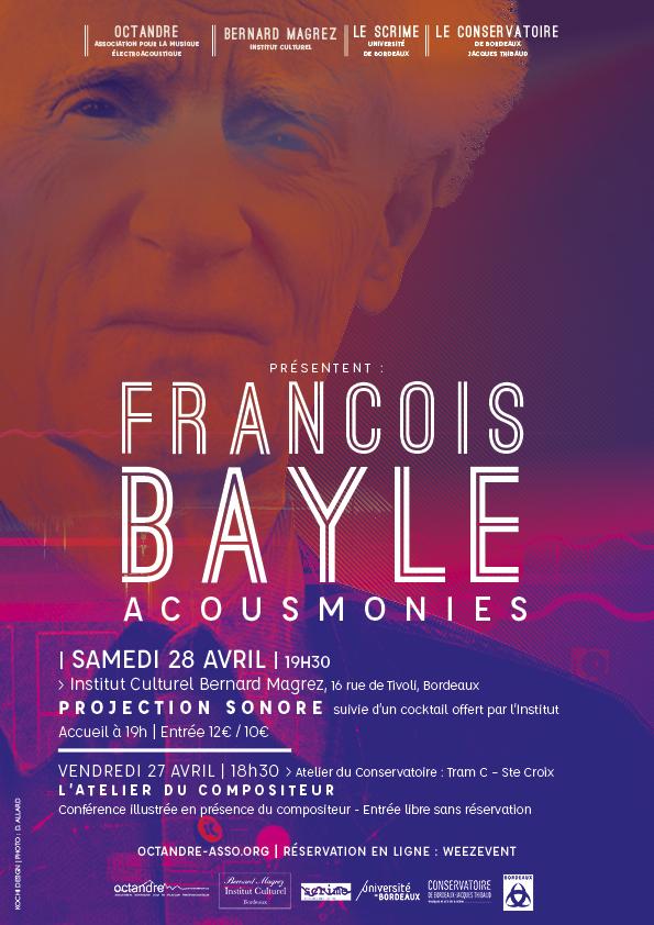 François Bayle Acousmonies