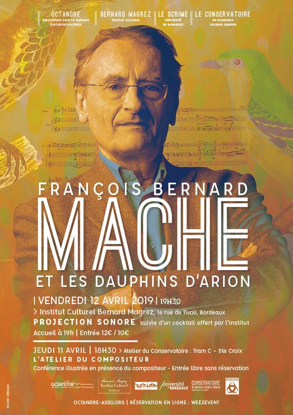 Affiche concert François Bernard Mâche